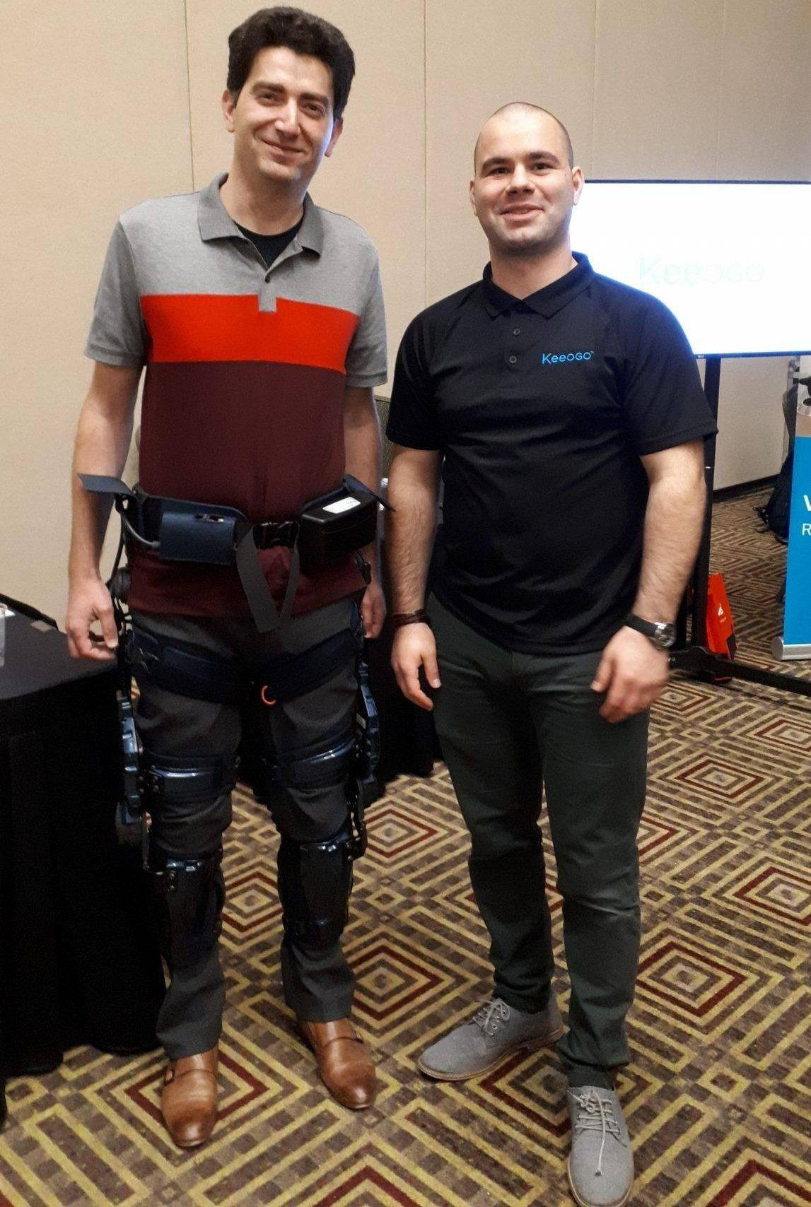 WeaRAcon 2019, the wearable robotics show in Arizona